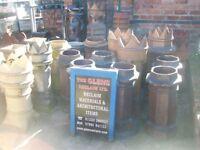 Chimney pots Reclaimed Chimney pots Large selection