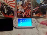 Sony PSP 3003 Slim Lite PLUS THREE GAMES