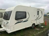 2013 bailey olympus 460 2 birth caravan