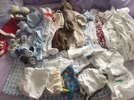 Newborn & 0-3 baby clothes