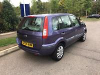 2006 Ford Fusion 1,4 litre 5dr 2 owners