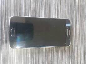 SAMSUNG S6 32GB UNLOCKED IN BLUE TOPAZ SPAIRS OR REPAIRS