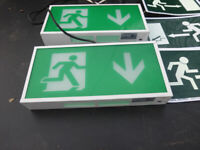 2 Maintained exit signs