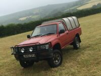 Toyota hilux. Extremly good reliable truck. just serviced. 2months MOT
