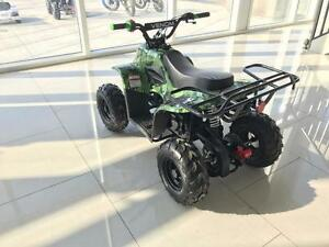 FREE SHIPPING KIDS 110CC ATV 4 STROKE FULLY AUTOMATIC QUAD WITH REMOTE KILL SWITCH