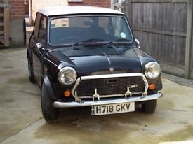 1990 998cc Mini Checkmate in black