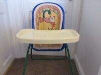 Mothercare 5 in 1 high chair/ low chair/ rocker chair/ swing chair & baby gym