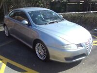 ALFA ROMEO GT 2.0 JTS COUPE, 2006, MET BLUE, NAVY FULL LEATHER, GREAT CAR, ONLY £1250