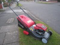 Mountfield SP460 Petrol Lawnmower Rear Roller Fully Serviced 46cm Cutting Width Great Mower