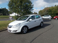 VAUXHALL CORSA 1.3 CDTI DIESEL ENERGY £30 PER YEAR ROAD TAX WHITE 2010 BARGAIN £2450*LOOK*PX/DELIVER