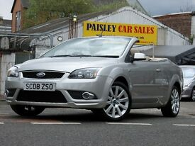 2008 REG FORD FOCUS CC-3 2.0cc CONVERTIBLE....