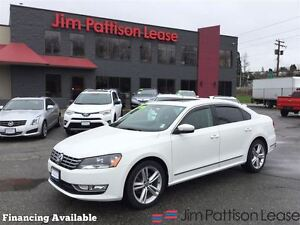 2014 Volkswagen Passat 2.0 TDI Diesel, leather, roof + more