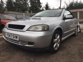 BREAKING - Vauxhall Astra bertone convertible silver - all parts Available