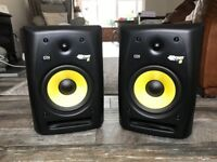 KRK Rokit Studio Monitors, Rokit RP8 G2 (Pair MINT)