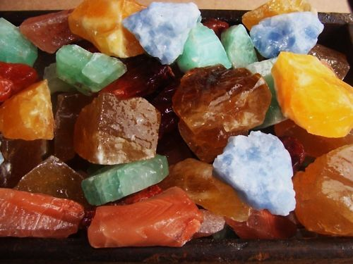 1000 Carat Lots of Unsearched Natural Mixed Calcite Rough+ FREE faceted gemstone