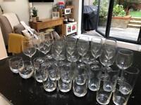 Glassware selection