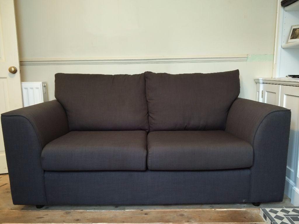 John Lewis Living Room Furniture John Lewis Emma 2 Seater Sofa In Grey In Leyton London Gumtree