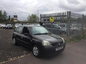 RENAULT CLIO 1.2 PETROL 5 DOOR POWER STEERING ALLOY WHEELS