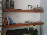 Fireplace beams , Stove , shelving etc