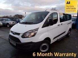 Ford Tourneo Custom 2.2 TDCVI 100 300 LWB L/Roof with ONLY 64000 Miles