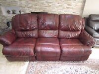 Harveys Whitby 3 Seater and 2 Seater Electric Recliner Sofa