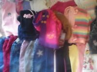 Big bundle of girls winter clothes 12-24 months