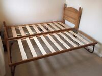 SINGLE 2FT 6IN WIDE WITH GUEST BED