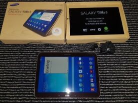Samsung Galaxy Tab 3 GT-P5210 16GB, Wi-Fi, 10.1in - Brown excellent condition