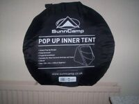 For sale - brand new and unused Sunncamp 2 berth pop up inner tent