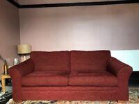 NEXT three-seater 'Tuscany' sofa. £295 ono.