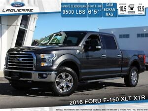 2016 Ford F-150 XLT**4X4*6 PLACES*CAMERA*BLUETOOTH*A/C**