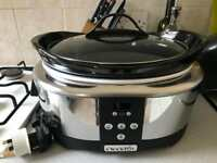 Crock-pot slow cooker - 5.7 litres
