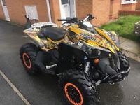 CanAm Renegade 1000 Road Legal ATV QUAD