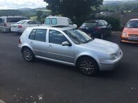 VOLKSWAGEN GOLF GTI 2001 in silver ,fsh ,recent cambelt,5door ,px welcome