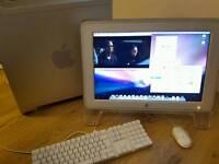 Apple PowerPC G5 Desktop Computer & Cinema Display