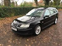 2006 SAAB 93 1.8 LINEAR ESTATE BLACK METALLIC