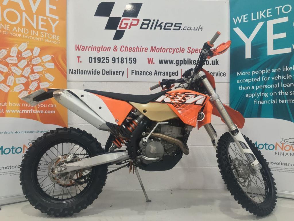 KTM 250 EXC-F ENDURO | ROAD REGISTERED | 98 HOURS | VERY CLEAN (orange) 2011