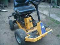 rire on mower