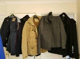 Selection of Next mens coats XL. All immaculate, all like new