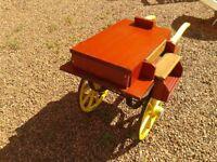 Jaunting Cart (miniature) unique, one off, collectors piece, garden, display, horses