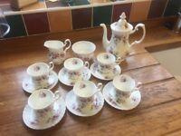 Royal Albert Lavender Rose Coffee Set (15 pieces)