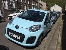 Baby Blue Citroen C1, 2012, low mileage, £0 tax, excellent condition