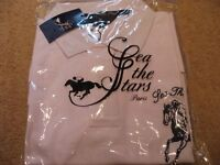 """SEA THE STARS"" Race Horse collectable official shirt and cap"
