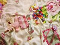 Baby/toddler hair bundle and dummy clips