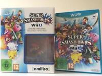 Nintendo Wii U Super Smash Bros with Amiibo