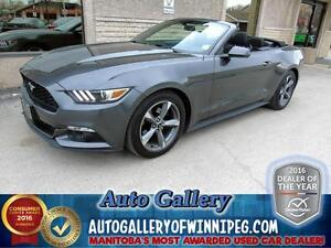 2015 Ford Mustang V6 Convertible 300hp