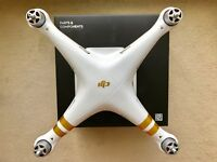 Phantom 3 Professional 4K (Excludes Remote Controller and Battery and Battery Charger)
