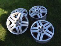 """VW Golf 4 15"""" alloys set of 4"""