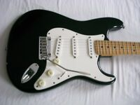 Fender American Standard Stratocaster electric guitar - USA - '97/'98 - Blackie