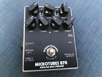 Darkglass Microtubes B7K Guitar Effects Overddrive Distortion Pedal Analog Bass PreAmp